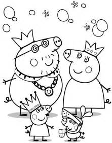 peppa pig coloring pages free coloring pages of peppa pigs