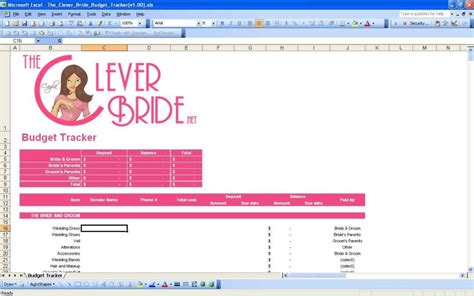 Wedding Spreadsheet Templates Wedding Spreadsheet Spreadsheet Templates For Busines Wedding Wedding Planning Excel Spreadsheet Template