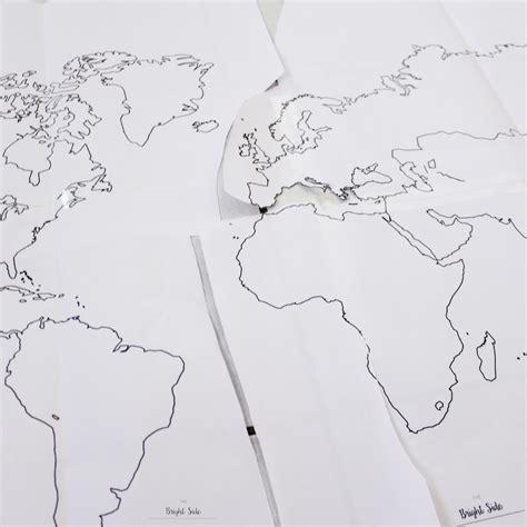 Carte Du Monde En Li Ge 2957 by Diy La Mappemonde En Li 232 Ge