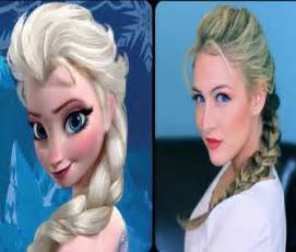 from frozen hairstyle disney hairstyle frozen elsa show your disney side
