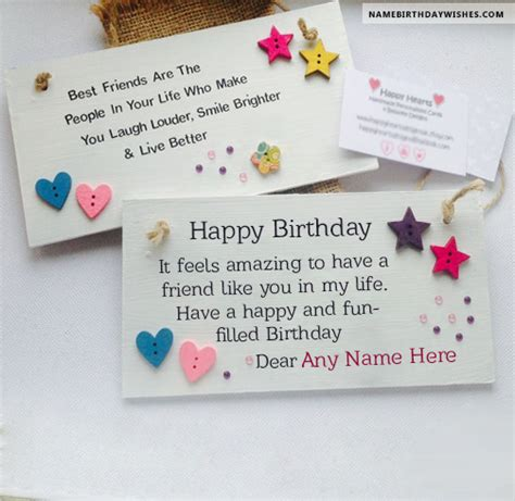 how to make a special birthday card free birthday cards with name and photo