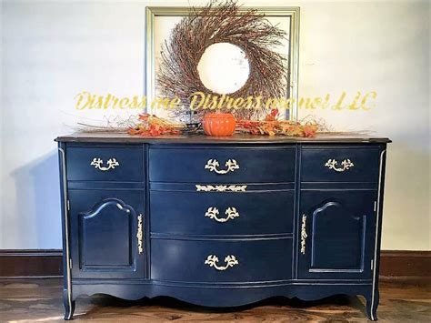 chalk paint that looks like stain custom navy dresser general finishes design center