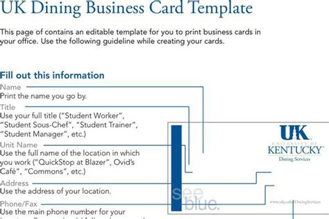 business card template excel templates free premium templates forms