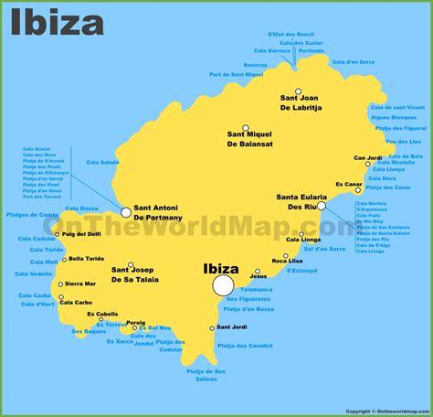 printable ibiza road map image gallery ibiza map