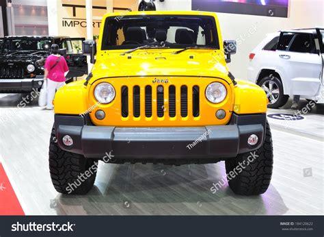 Jeep Thailand Nonthaburi March 25 New Jeep Wrangler On Display