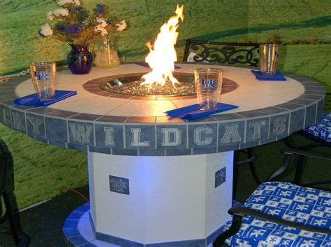 Outdoor How To Build Outdoor Propane Fire Pit Round How To Build A Propane Pit Table
