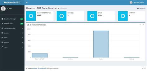 template generator php ultimatespeed php code generator enterprise by hezecom