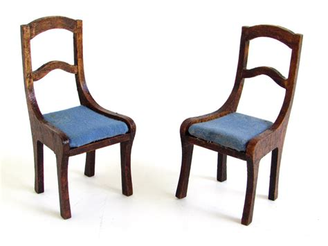 x acto dollhouse furniture x acto house of miniatures dollhouse side chairs wooden