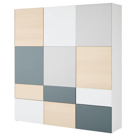 besta storage combination best 197 storage combination w doors drawers white light grey