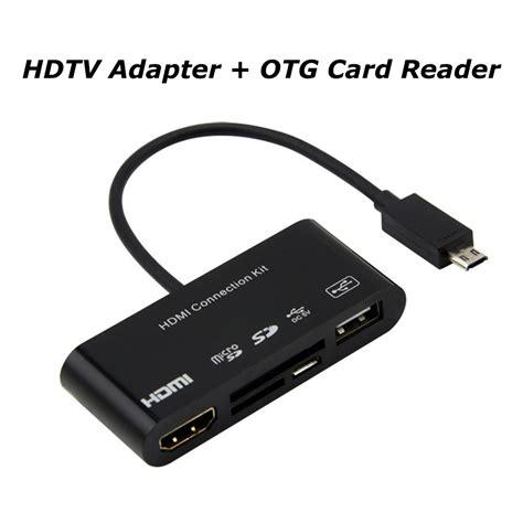 Otg Hdmi new 1080p mhl hdtv hdmi adapter otg card reader for samsung galaxy s3 4 note2 3 ebay