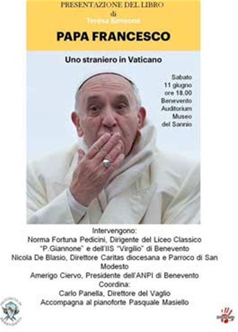 libro teresa domani al museo del sannio la presentazione del libro di teresa simeone papa francesco uno