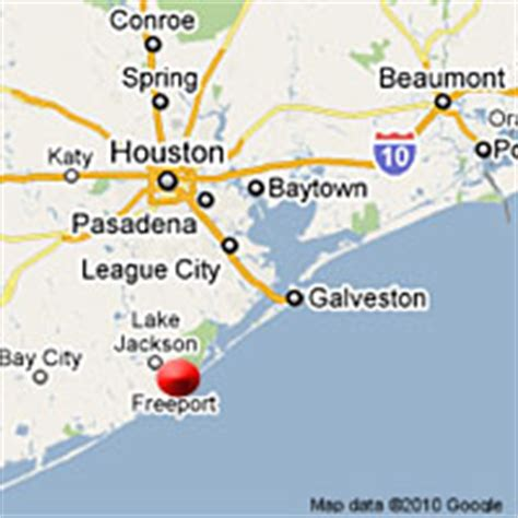 freeport texas map pilings freeport