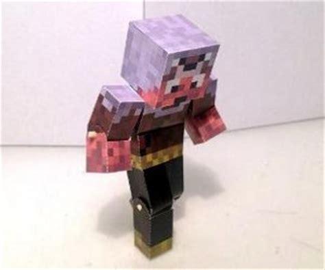 Pixel Papercraft Print - minecraft papercraft minis