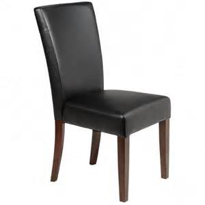 Black Leather Parsons Dining Room Chairs 28 Black Leather Parsons Chair Classic Roll Back