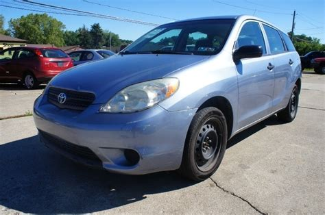 manual cars for sale 2005 toyota matrix seat position control wagon for sale in ohio
