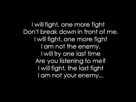 bullet for my lyrics you want a battle bullet for my the last fight acoustic lyrics