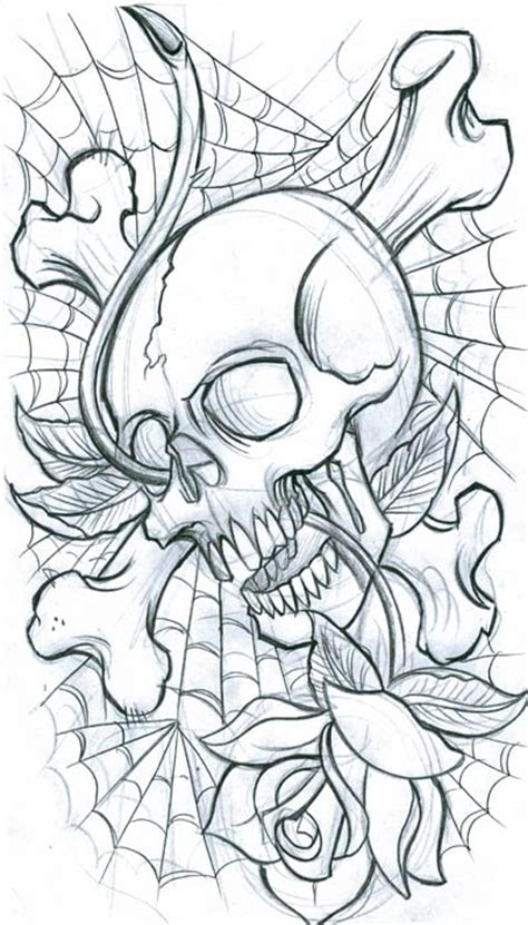 make a tattoo design online free skull designs skulls tattoos skull design
