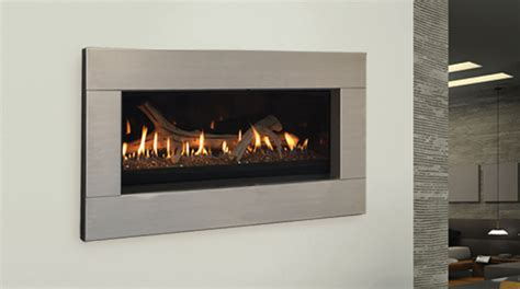 modern direct vent gas fireplace majestic echelon 42 contemporary linear direct vent gas
