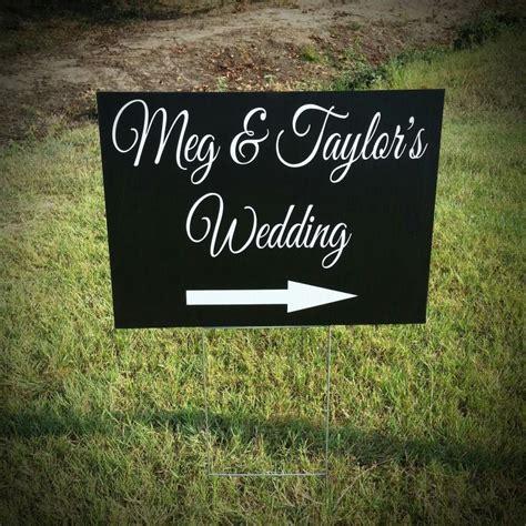 Wedding Yard by Wedding Yard Sign Wedding Directional Sign Corrugated