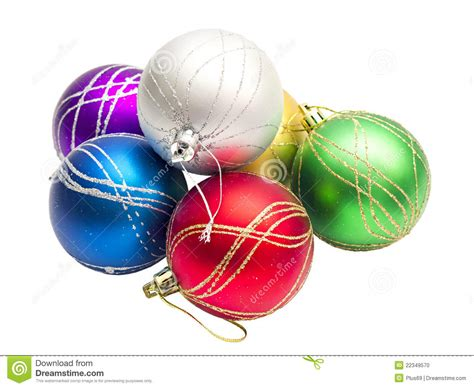 multi colored christmas balls stock photo image 22349570
