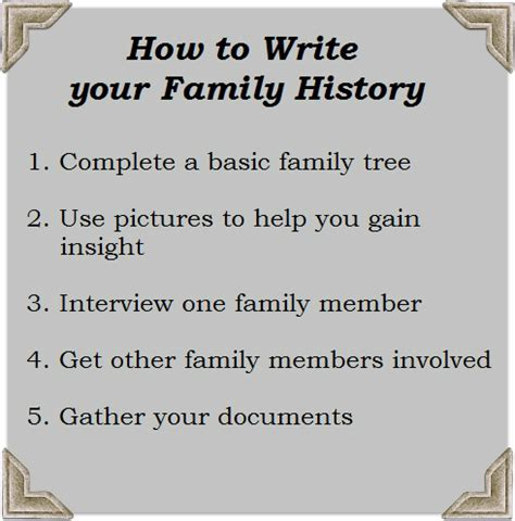 how to write an history paper family history essay essay family history family tree