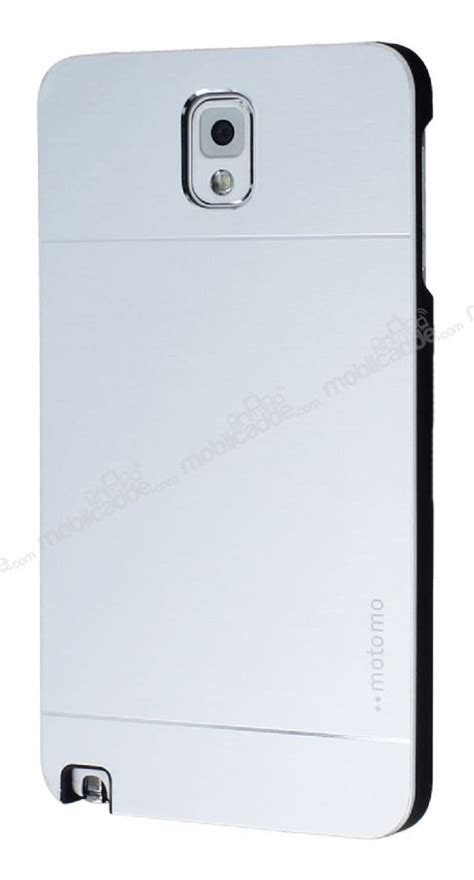 Motomo Metal Galaxy Note 3 motomo samsung n9000 galaxy note 3 metal gri k箟l箟f