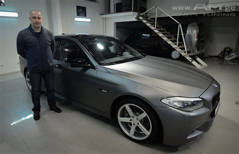 Auto Ge by Bmw F10 Car Wrapping Auto Am Ge