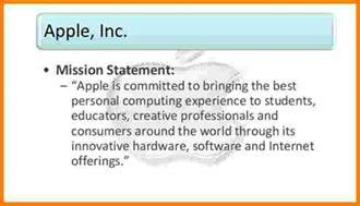8 what is apple s mission statement case statement 2017