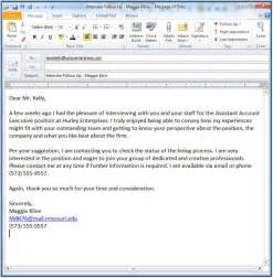 how to write email after business meeting sle follow