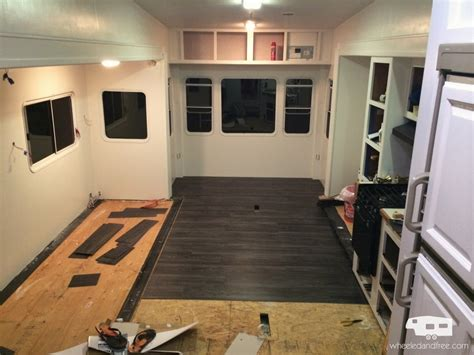 the rv remodel wheeled and free rv renovation