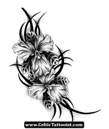 azalea tattoo designs celtic flower tattoos search tattoos