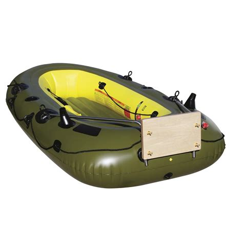 inflatable boat with a motor airhead transom motor mount for inflatable boats 296419