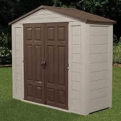 Storage Outside House Suncast 8 X 3 Ft Tool Shed Walmart