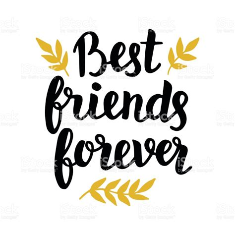 best forever friends best friends forever stock vector more images of