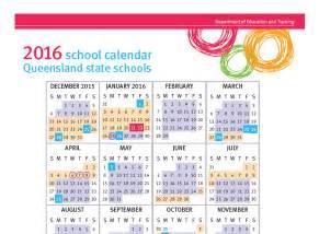 Queensland School Calendar 2018 News