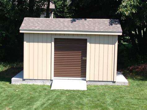 Cedarburg Overhead Door 10x12 Shed With Roll Up Door Cedarburg Wi 10x15 Barn With Steel Roll Up Door 12x16 Gable