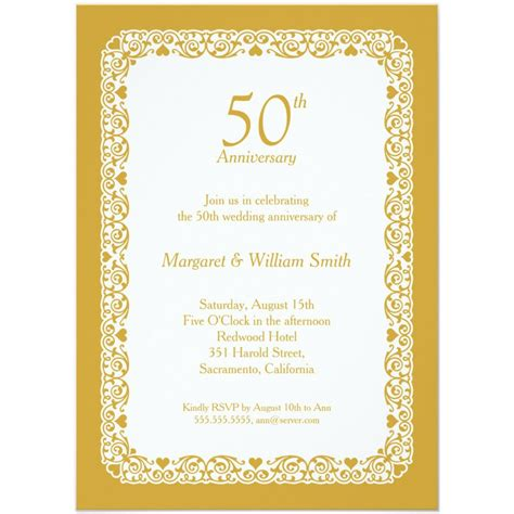 wedding anniversary templates anniversary invitations personalized anniversary