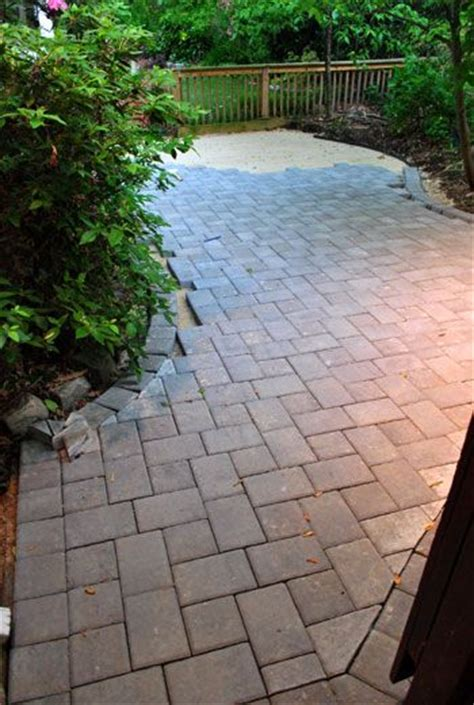 How To Lay Paver Patio How To Lay A Paver Patio Gravel Sand And Stones Backyards Walkways And House