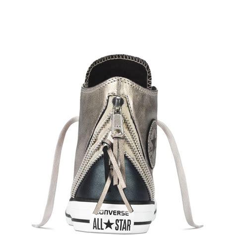 Sepatu Converse High Chucktaylor 2 Serpentine chuck all metallic tri zip converse addiction chuck taylors