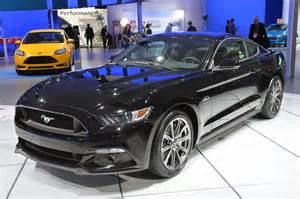 Black Ford Mustang 2015 2015 Mustang Gt Black