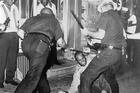 civil rights movement police brutality we can never be satisfied as long as the negro i have