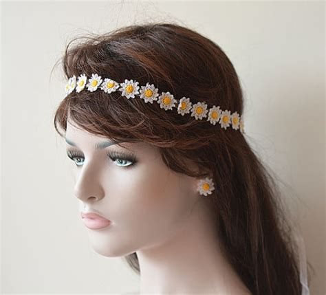 Wedding Hair Accessories Chagne by Wedding Hair Accessories Wedding Crochet Flower