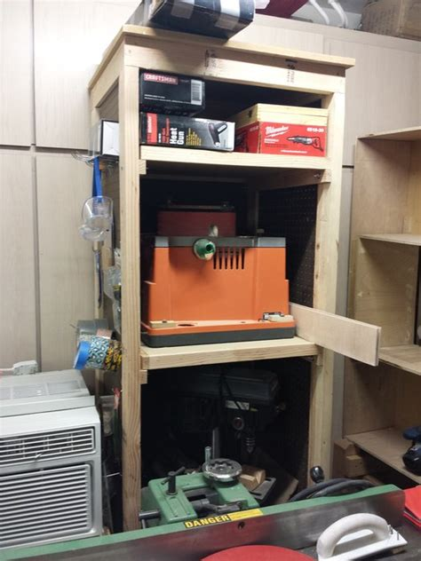 Power Tool Tower Storage   by Eddy 1287 @ LumberJocks.com