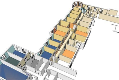 section 136 mental health act 2007 medical architecture psychiatric ward refurbishment bede