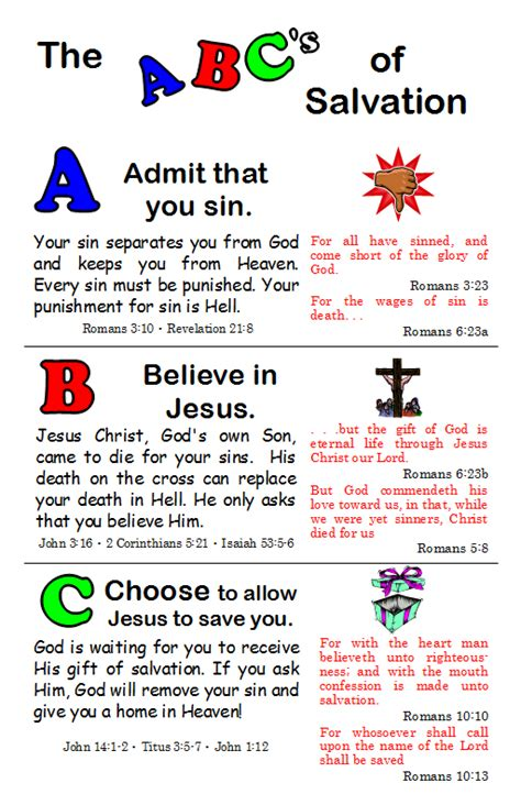 printable abc s of salvation abc plan of salvation pdf pictures to pin on pinterest