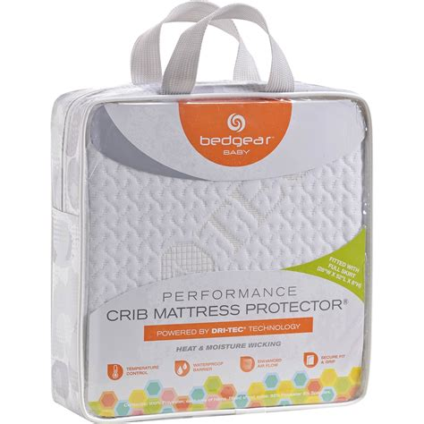 Dri Tec Pillow Protector by Bedgear Baby Dri Tec 5 0 Performance Crib Mattress