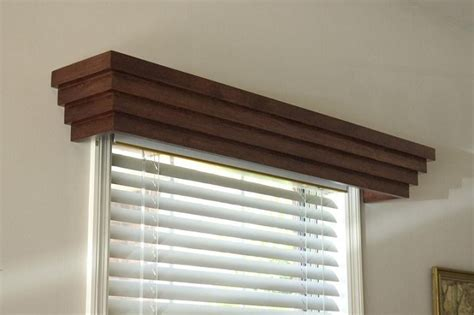 Wood Window Cornice Cascade Window Cornice For The Home