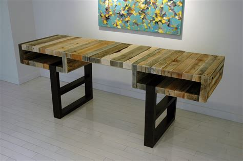 Desk Made From Pallets spassov the pallet desk