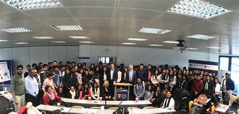 St Joseph S Executive Mba by Mbs Hosts Students From St Joseph S College In Bangalore