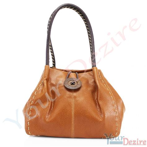 womens designer classic faux leather tote bag